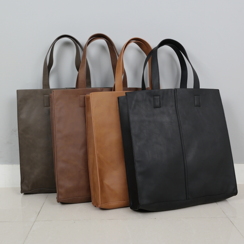 2way - Leather tote BAG (4color)