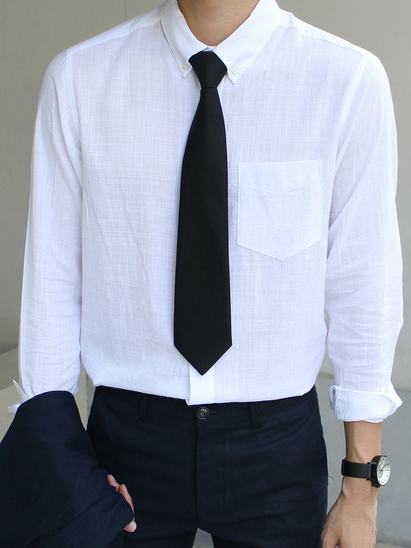 Handmade basic tie (3color)